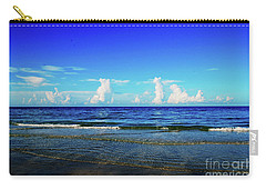 Carry-all Pouch featuring the photograph Storm On The Horizon by Gary Wonning