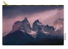 Storm On The Peaks Carry-all Pouch by Andrew Matwijec