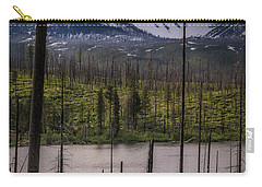 Carry-all Pouch featuring the photograph Storm On Three Fingered Jack by Cat Connor