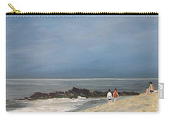 Storm Out To Sea Carry-all Pouch