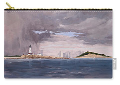 Storm Over Boston Carry-all Pouch