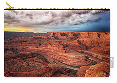 Storm Over Dead Horse Point Carry-all Pouch