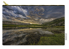Storm Over Madison River Valley Carry-all Pouch