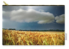 Storm Over Ripening Wheat Carry-all Pouch