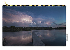 Carry-all Pouch featuring the photograph Storm Reflection by Aaron J Groen