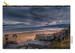 Storm Watch Over Malibu - Panarama  Carry-all Pouch