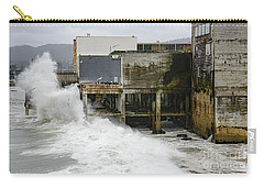 Storm Waves Hit Aeneas Ruins At Cannery Row Carry-all Pouch