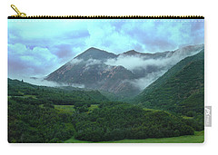 Carry-all Pouch featuring the photograph Storm's End by Marie Leslie
