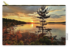 Carry-all Pouch featuring the photograph Storms Never Lasts by Rose-Marie Karlsen