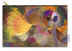 Storms On Sheridan Carry-all Pouch by John Robert Beck