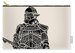 Stormtrooper Samurai - Star Wars Art - Black Carry-all Pouch