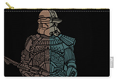 Stormtrooper Samurai - Star Wars Art - Minimal Carry-all Pouch