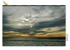 Stormy Beach Clouds Carry-all Pouch