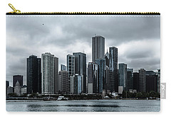 Stormy Chicago  Carry-all Pouch