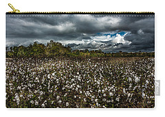 Stormy Cotton Field Carry-all Pouch