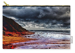 Carry-all Pouch featuring the photograph Stormy Day by Blair Stuart