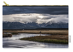 Stormy Day Of Fishing Carry-all Pouch