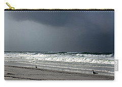 Carry-all Pouch featuring the photograph Stormy by Debra Forand