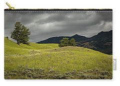 Stormy Fields Of Yellow Carry-all Pouch
