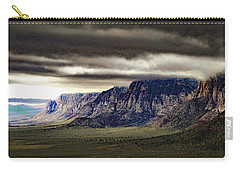 Stormy Morning In Red Rock Canyon Carry-all Pouch by Alan Socolik