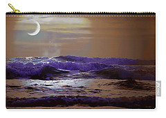 Carry-all Pouch featuring the photograph Stormy Night by Aaron Berg