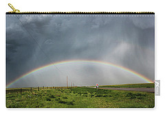 Stormy Rainbow Carry-all Pouch