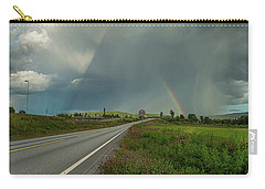 Carry-all Pouch featuring the photograph Stormy by Rose-Marie Karlsen