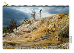 Stormy Skies At Mammoth Carry-all Pouch by Steve Stuller