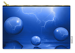 Stormy Skies - Blue Carry-all Pouch