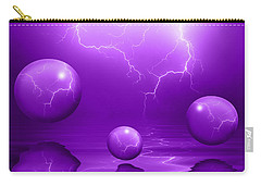 Stormy Skies - Purple Carry-all Pouch