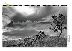 Stormy Sky At The Ranch Carry-all Pouch