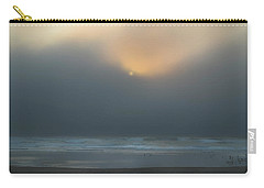 Carry-all Pouch featuring the photograph Stormy Sunset Oregon Coast by Yulia Kazansky