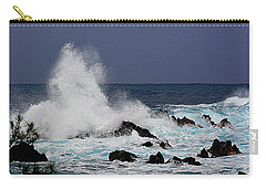 Stormy Surf At Laupahoehoe Carry-all Pouch