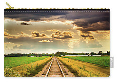 Stormy Tracks Carry-all Pouch