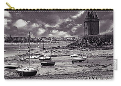Carry-all Pouch featuring the photograph Stormy Weather by Elf Evans