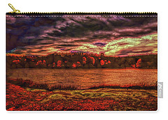 Carry-all Pouch featuring the photograph Stormy Weather by John M Bailey