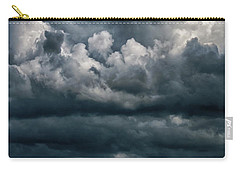 Carry-all Pouch featuring the photograph Stormy Weather by Judy Hall-Folde