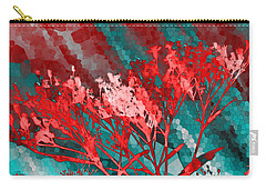 Carry-all Pouch featuring the digital art Stormy Weather by Shawna Rowe