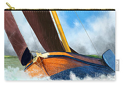 Stormy Weather Skutsje Sailing Ship Carry-all Pouch