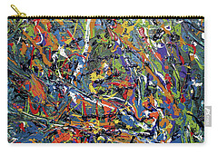 Carry-all Pouch featuring the painting Stormza Brewin' by Pam Roth O'Mara