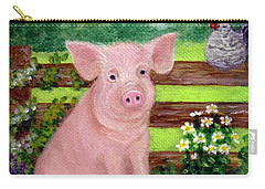 Storybook Pig Carry-all Pouch