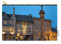 Carry-all Pouch featuring the photograph Stow On The Wold - Twilight by Brian Jannsen
