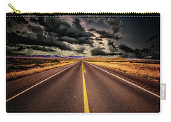 Straight Lines  ... Carry-all Pouch by Chuck Caramella