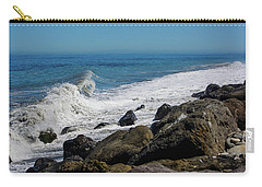 Carry-all Pouch featuring the photograph Strait Of Juan De Fuca by Tikvah's Hope