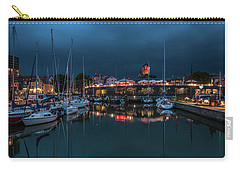 Stralsund At The Habor Carry-all Pouch by Martina Thompson