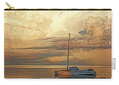 Carry-all Pouch featuring the photograph Stranded by HH Photography of Florida