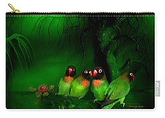 Strange Love Carry-all Pouch by Carol Cavalaris