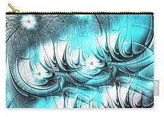 Carry-all Pouch featuring the digital art Strange Things by Anastasiya Malakhova