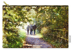 Strangers On A Footpath / In To The Light Carry-all Pouch