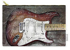 Strat Guitar Fantasy Carry-all Pouch by Mal Bray